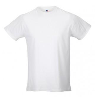 Camiseta publicitaria blanca Slim T de hombre