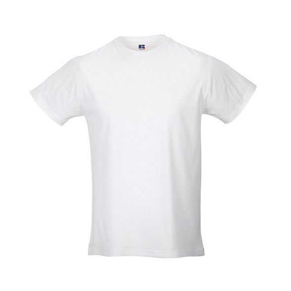 Camisetas publicitarias blanca Slim T hombre / Camisetas promocionales