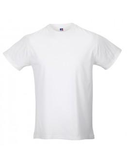 Camisetas publicitarias Slim T hombre blanca / Camisetas promocionales