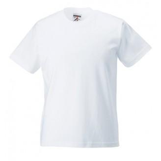 Camiseta publicidad Infantil Clásica 180 blanca