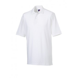 Polo Clásico Algodón blanco Promocional / Polos Personalizados