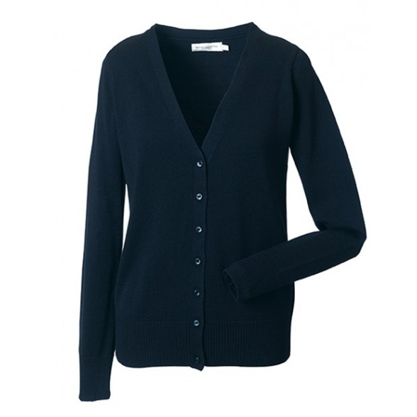 Jersey de trabajo cuello pico mujer / Chaquetas Corporativas Bordadas