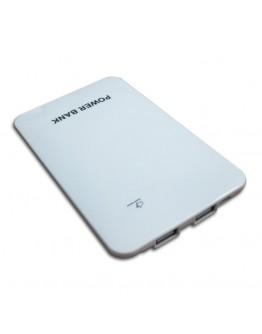 Power Bank batería externa personalizado 8000 mAh plana