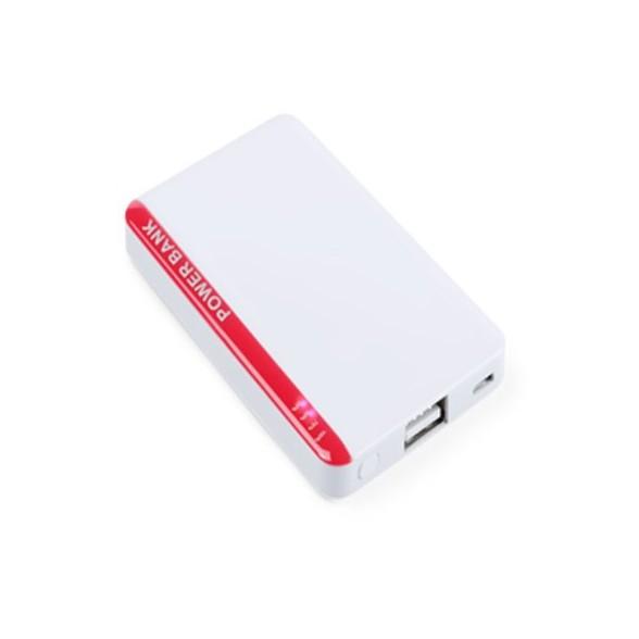 Power bank en forma de tarjeta 2200 mAh