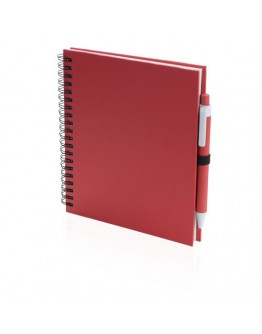 Libreta Cartón Reciclado 15 x 18,2 x 1,9 cm