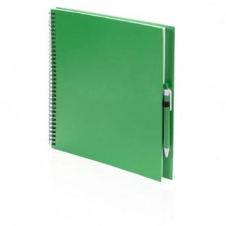 Libreta Cartón Reciclado 21x29x2 cm