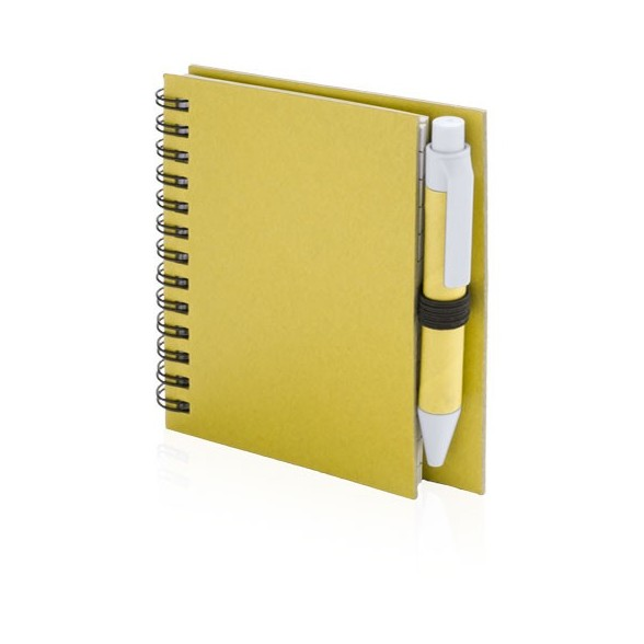 Libreta Cartón Reciclado 8,6x12x14 cm
