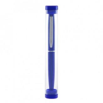 Bolígrafo de aluminio con estuche
