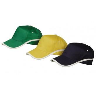 Gorras Publicitarias de algodón perfil blanco / Gorras Personalizadas