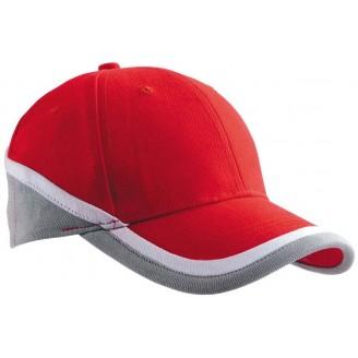 Gorra tricolor algodón peinado