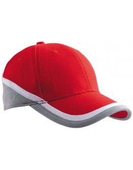 Gorras publicitarias tricolor de algodón / Gorras Bordadas