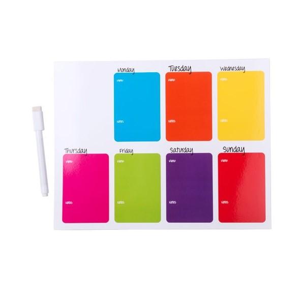 Imán Multicolor con rotulador