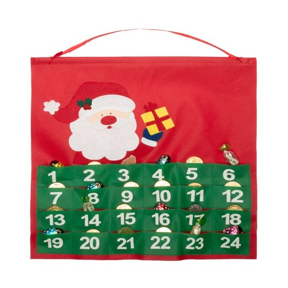 Calendario Adviento Non-Woven