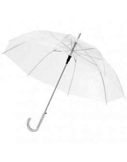 Paraguas publicitario automático transparente