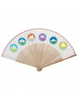 Abanicos personalizados de bambú para bodas / Abanicos Publicitarios