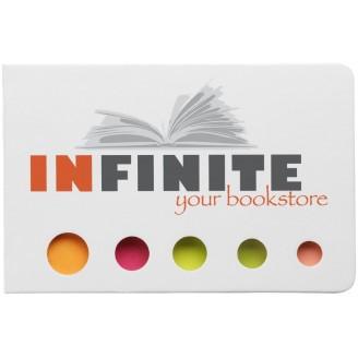 Bloc notas adhesivas 5 colores