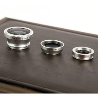 Kit de 3 lentes para móvil...