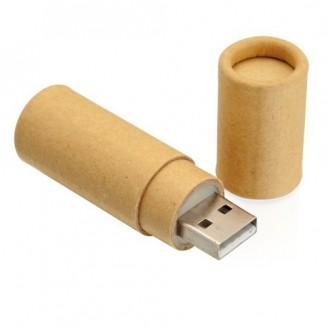 Memorias USB cartón reciclado 16Gb. ¡Desde 10 unidades!