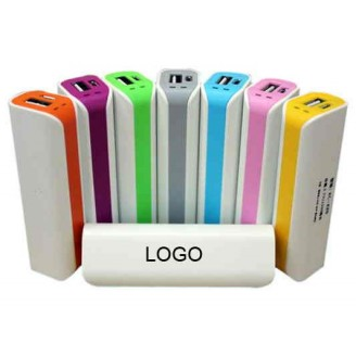 Power Bank Tubo 2600mAh