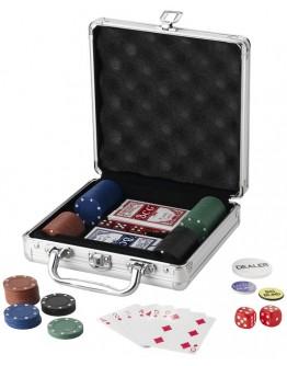 Maletín de póker publicitario con fichas