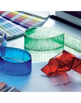 Regla publicitaria de plástico flexible / Reglas Personalizadas Baratas