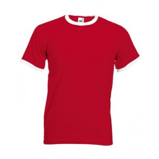 Camisetas para publicidad RINGER / Camisetas Fruit of the Loom