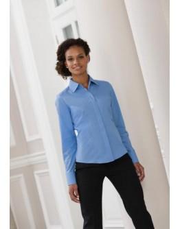 Camisa trabajo entallada de Mujer de Popelín / Camisas Personalizadas