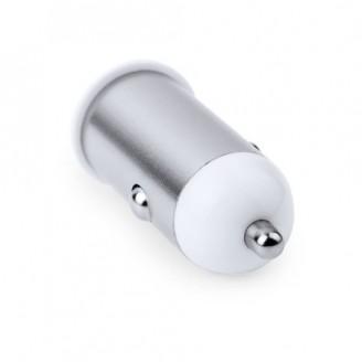 Cargador USB Coche Aluminio 1000 mAh