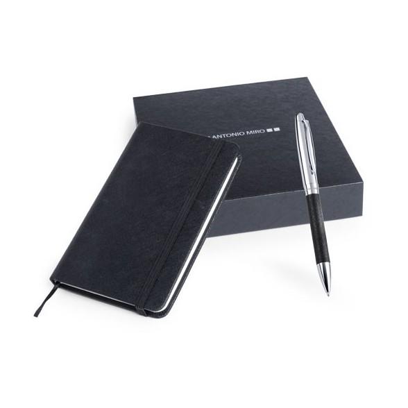 Set bolígrafo y libreta Rodum Antonio Miró / Libretas Personalizadas