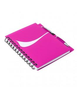 Libretas personalizadas con bolígrafo Abidos