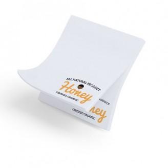 Bloc notas Adhesivas personalizadas Daviu. 75x75 cm