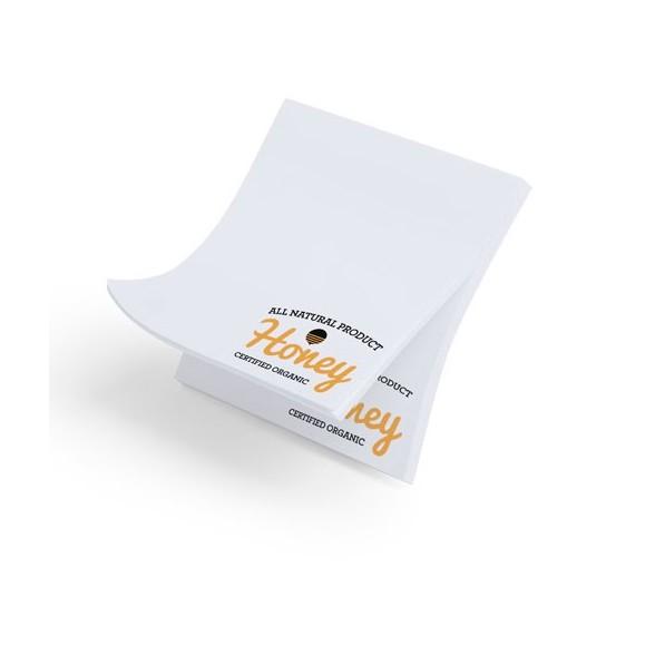 Bloc notas Adhesivas personalizadas 75x75 cm / Tacos Papel Personalizados