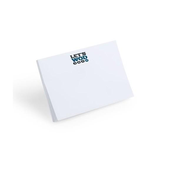 Bloc Notas Adhesivas personalizadas Daviu 10x75 cm
