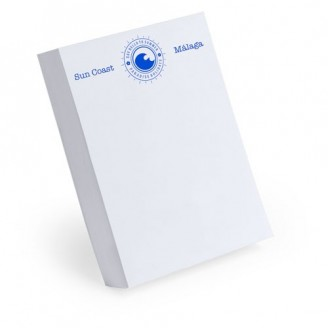 Tacos de papel personalizados 8x11 cm
