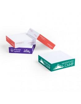 Tacos de papel personalizados La Tuca 10x10 cm. 250 hojas