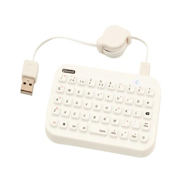 Teclado Bluetooth Korus. Compatible con IPad IPhone 4G Google Android y Smartphone Windows Mobile 6.0.