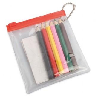 Set de lápices colores y dibujos