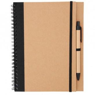Libreta personalizada papel reciclado A5 Edna