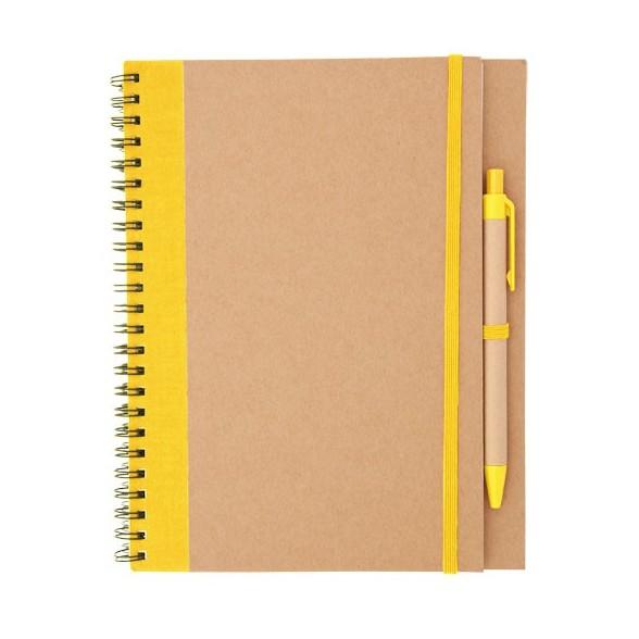 Libreta Personalizada Papel Reciclado A5 Edna / Libretas Promocionales