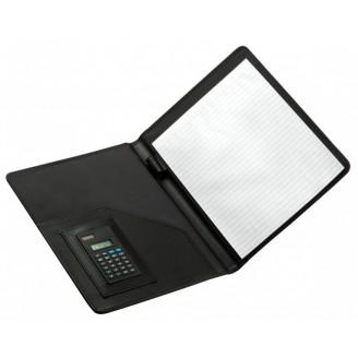 Portafolios negro con Calculadora