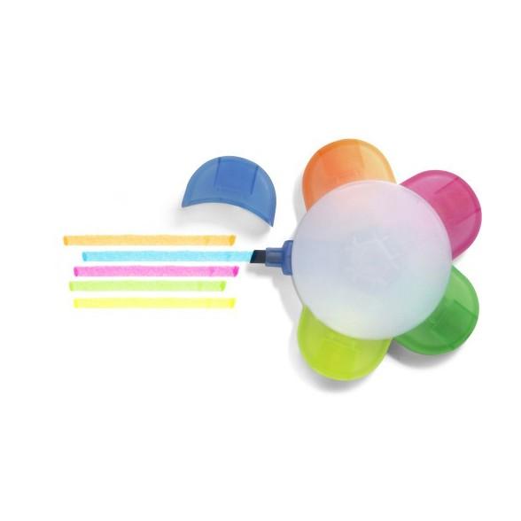Set 5 Rotuladores Fluorescentes Color / Subrayadores Baratos