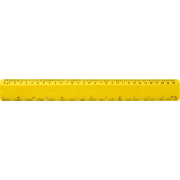 Regla flexible de plástico 30 cm