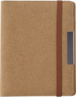 Portafolios Personalizados A5 tapas corcho / Porfolios para Congresos