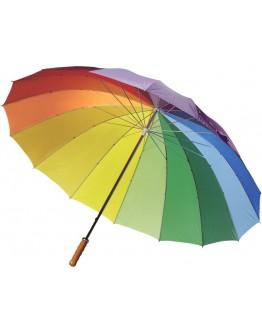 Paraguas automáticos multicolor