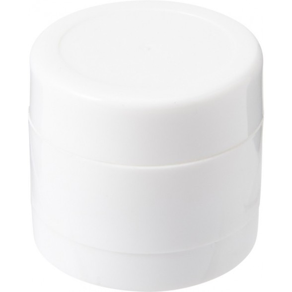 Caja redonda con 12 gramos de caramelos de menta