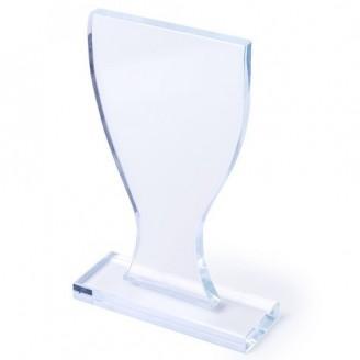 Placa conmemorativa de cristal Edna