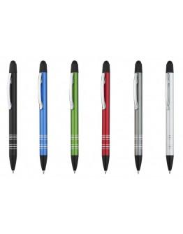 Bolígrafo con puntero táctil de aluminio Croc