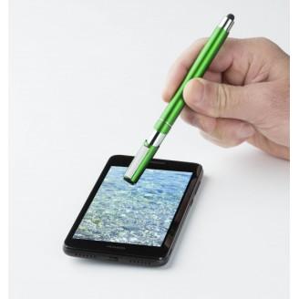 Boligrafo Touch pen clip metal
