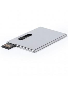 Memoria USB 8Gb aluminio tipo tarjeta Bulnes