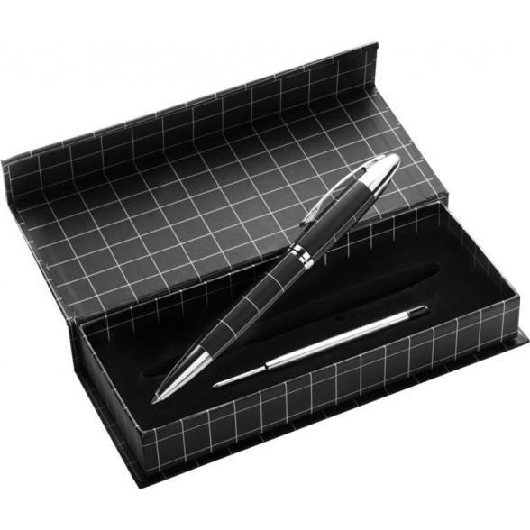 Boligrafos metálicos con estuche Parres